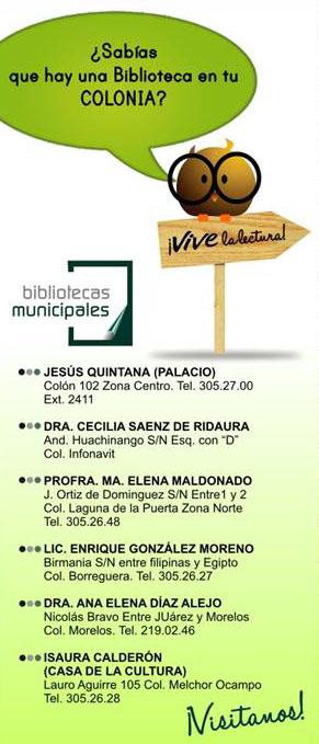 Bibliotecas en Tampico